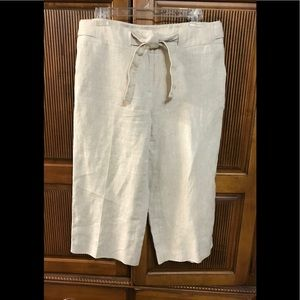 TALBOT linen culottes size 10p